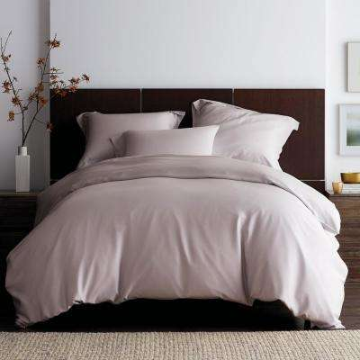 Tencel Lyocell Solid 300-Thread Count Sateen Duvet Cover