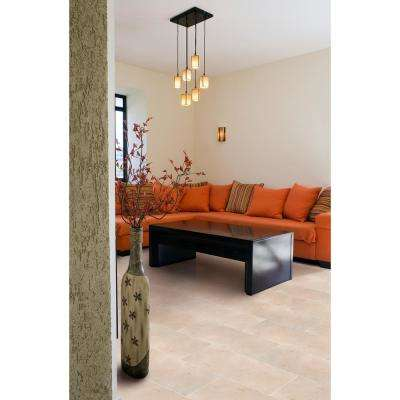 Crema 12 in. x 24 in. Marfil Polished Marble Floor and Wall Tile (10 sq. ft./case)