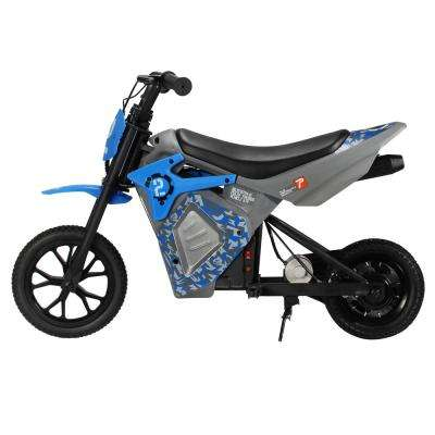 EM-1000 E-Motorcycle in Blue