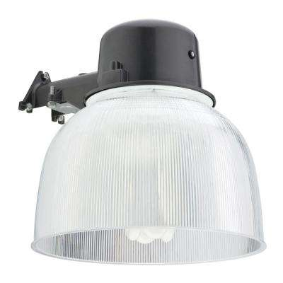 Wall-Mount Outdoor Bronze Fluorescent Area Light