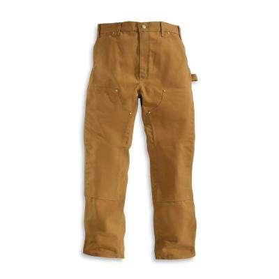 5bac414a Men's Carhartt Cotton Straight Leg Non-Denim Bottoms. Black; Carhartt Brown