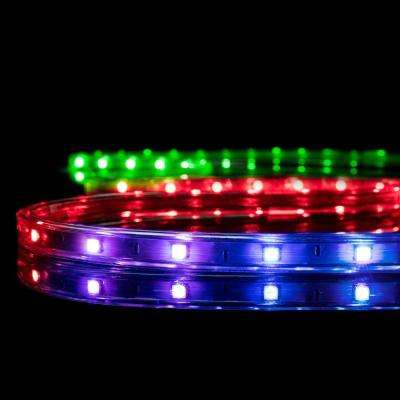 Meilo 16.4 ft. Color Changing RGB LED Strip Light (2 Pack)