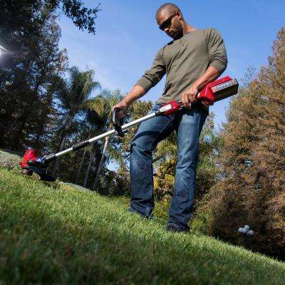 PowerPlex 13 in. 40-Volt Max Lithium-Ion Cordless String Trimmer/Edger - Battery and Charger Not lncluded