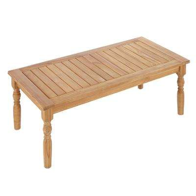 Old Town Teak Patio Coffee Table