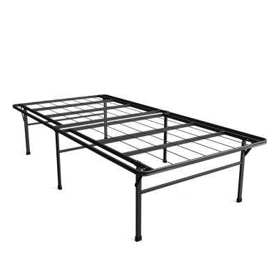 High Profile SmartBase Twin XL Metal Bed Frame