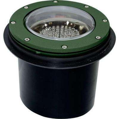 Brantley 60-Light Green Outdoor LED In-Ground Well Light