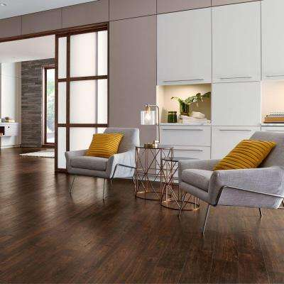 Outlast+ Waterproof Java Scraped Oak 10 mm T x 6.14 in. W x 47.24 in. L Laminate Flooring (451.36 sq. ft. / pallet)