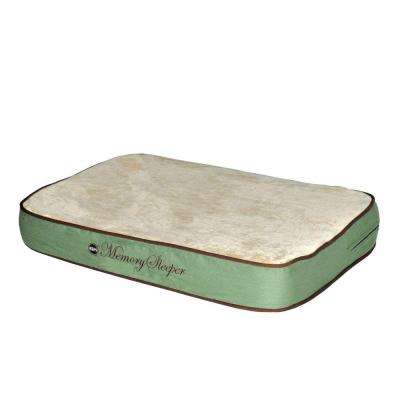Memory Sleeper Small Sage Dog Bed