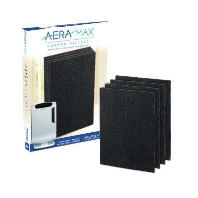 AeraMax Carbon Filter for 190/200/DX55 Air Purifiers (4-Pack)