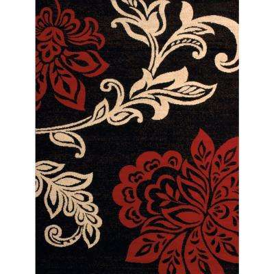 Trouseau Red 7 ft. 10 in. x 10 ft. 6 in. Indoor Area Rug