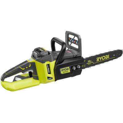 Reconditioned 14 in. 40-Volt Lithium-Ion Brushless Cordless Electric Chainsaw