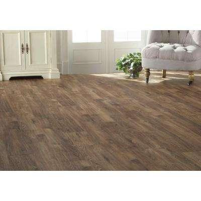 Alderpoint Oak 12 mm T x 6.26 in. W x 54.45 in. L Laminate Flooring (16.57 sq. ft. / case)