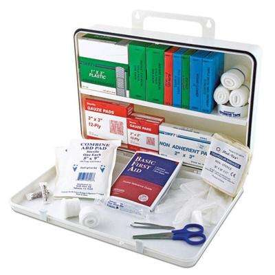 Metal 50 Person First Aid Kit
