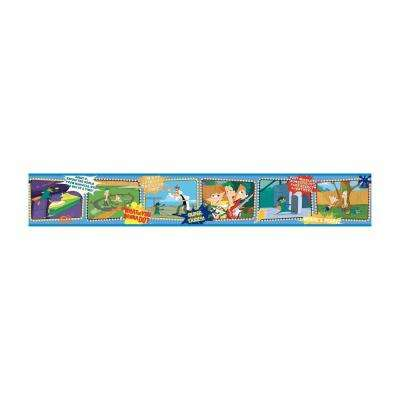 9 in. Phineas and Ferb Border