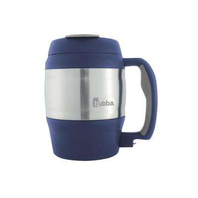 52 oz. (1.5 L) Insulated Double Walled BPA-Free Mug with Stainless Steel Band