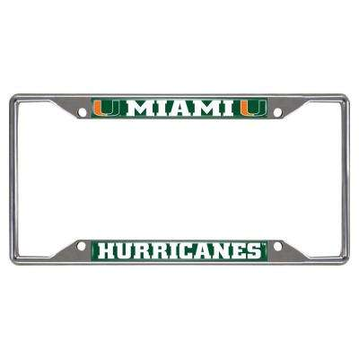 NCAA - University of Miami License Plate Frame