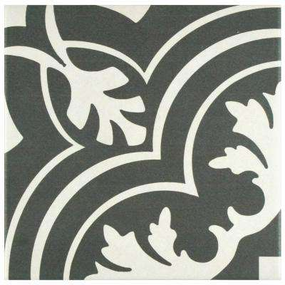Twenties Classic 7-3/4 in. x 7-3/4 in. Ceramic Floor and Wall Tile