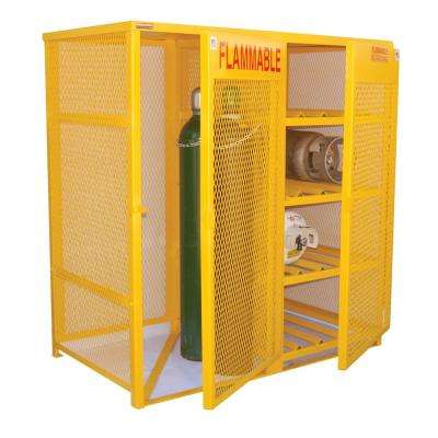 8 10 Cylinder Capacity Horizontal And Vertical Cylinder Storage Cabinet