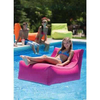 Aruba Inflatable Lounge Chair in Fuchsia