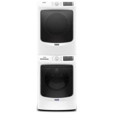 7.3 cu. ft. 120 Volt White Stackable Gas Vented Dryer with Quick Dry Cycle, ENERGY STAR