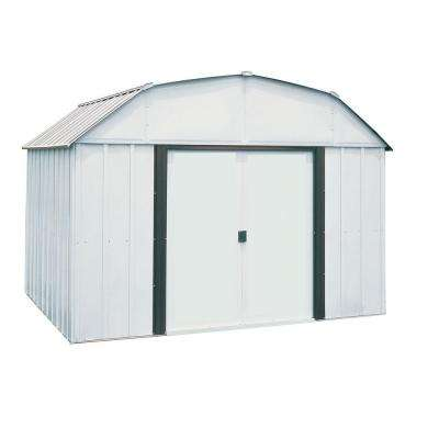 Lexington 10 ft. W x 8 ft. D Steel Storage Building