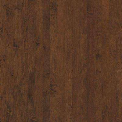 Take Home Sample - Subtle Scraped Ranch House Sunset Maple Engineered Hardwood Flooring - 5 in. x 7 in.