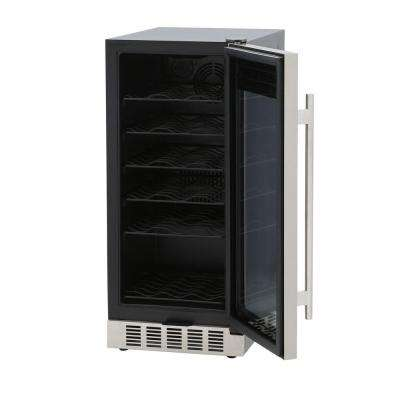 Under-Counter 32-Bottle Wine and Beverage Cooler