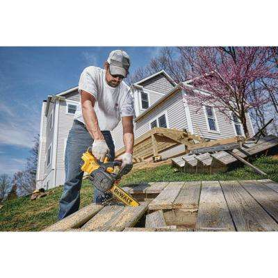 20-Volt MAX Lithium-Ion Cordless 12 in. Brushless Chainsaw (Tool Only) with Bonus 20-Volt MAX Lithium-Ion Starter Kit