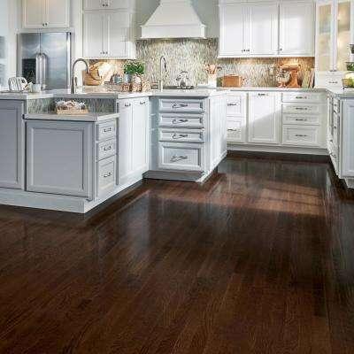 American Originals Barista Brown Oak 3/8 in. T x 3 in. W x Varying L Click Lock Engineered Hardwood Flooring (22 sq.ft.)