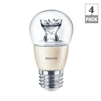 40W Equivalent Soft White (2700K) A15 Fan Dimmable LED Light Bulb (4-Pack)