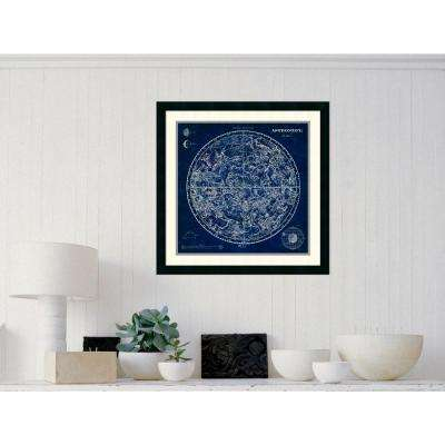 "26 in. W x 26 in. H ""Celestial Blueprint"" by Susan Schlabach Framed Art Print"