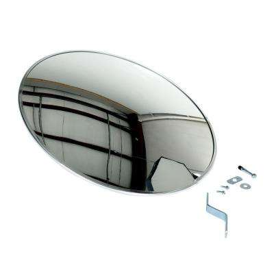 26 in. Industrial Round Acrylic Mirror