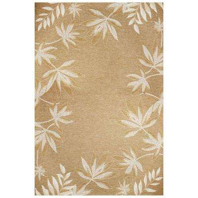 Border Fern Sage 5 ft. 3 in. x 7 ft. 7 in. Area Rug