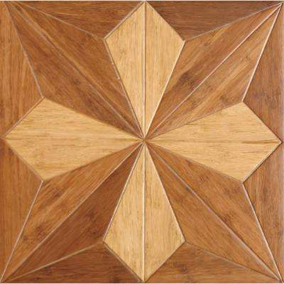Victorian 9/16 in. Thick x 15.75 in. Wide x 15.75 in. Length Engineered Parquet Hardwood Flooring (17.22 sq. ft. /case)