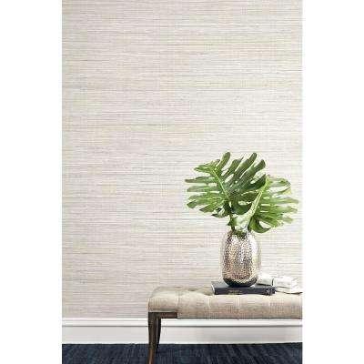 Baja Grass Brown Texture Wallpaper