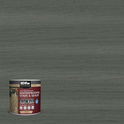 8 oz. #ST131 Pewter Semi-Transparent Waterproofing Stain and Sealer Sample