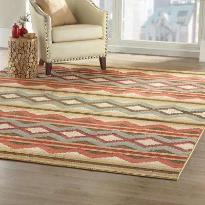 Chalet Multi 8 ft. x 10 ft. Area Rug