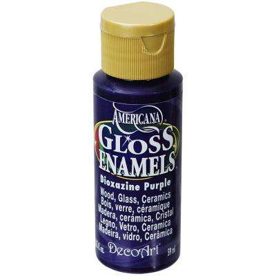 2 oz. Dioxazine Purple Gloss Enamel Paint