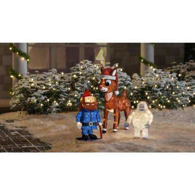 36 in. 3D LED Rudolph