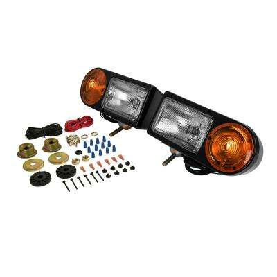 Snow Plow Lights with Turn Signal Function (2-Pack)