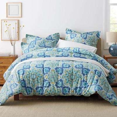 Quinlan Medallion Wrinkle-Free Sateen Comforter