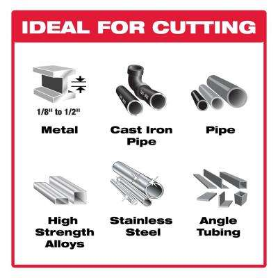 9 in. 8 TPI Steel Demon Carbide Tipped Metal Cutting Reciprocating Blade (3-Pack)