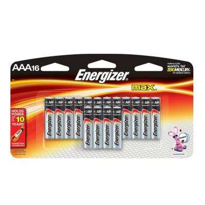 Alkaline AAA Battery 16 Pack