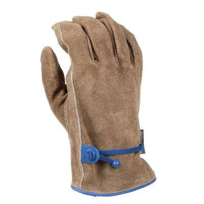 Large Suede Cowhide HydraHyde Leather Work Gloves