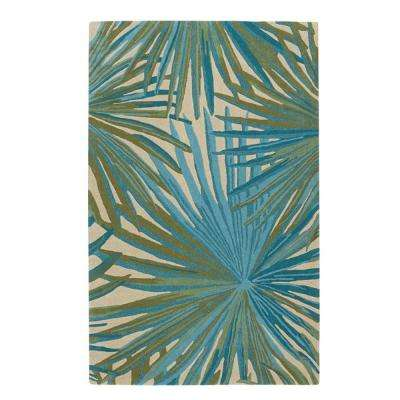 Key West Green 5 ft. x 8 ft. Area Rug
