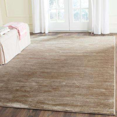 Vision Light Brown 9 ft. x 12 ft. Area Rug