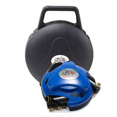 Blue Grill Cleaning Robot with Carry Case