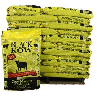 50 lb. Composted Cow Manure (Pallet of 55 Bags)