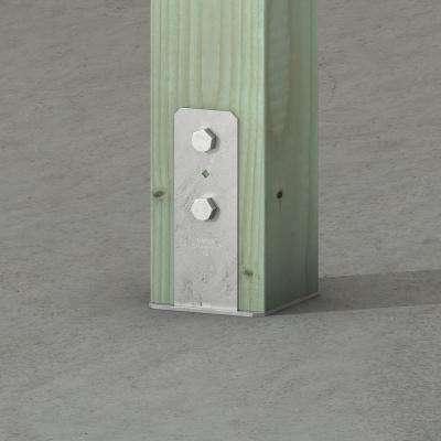 CB Hot-Dip Galvanized Column Base for 6x6 Nominal Lumber