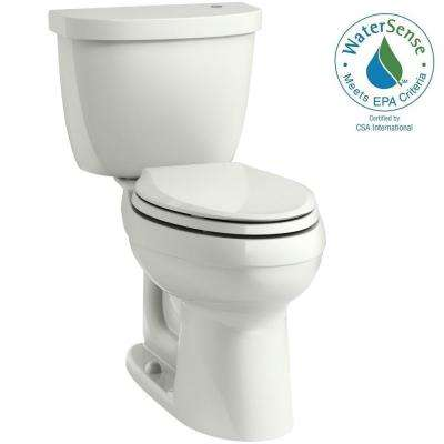 Cimarron Touchless Comfort Height 2-Piece 1.28 GPF Elongated Toilet with AquaPiston Flushing Technology in Dune